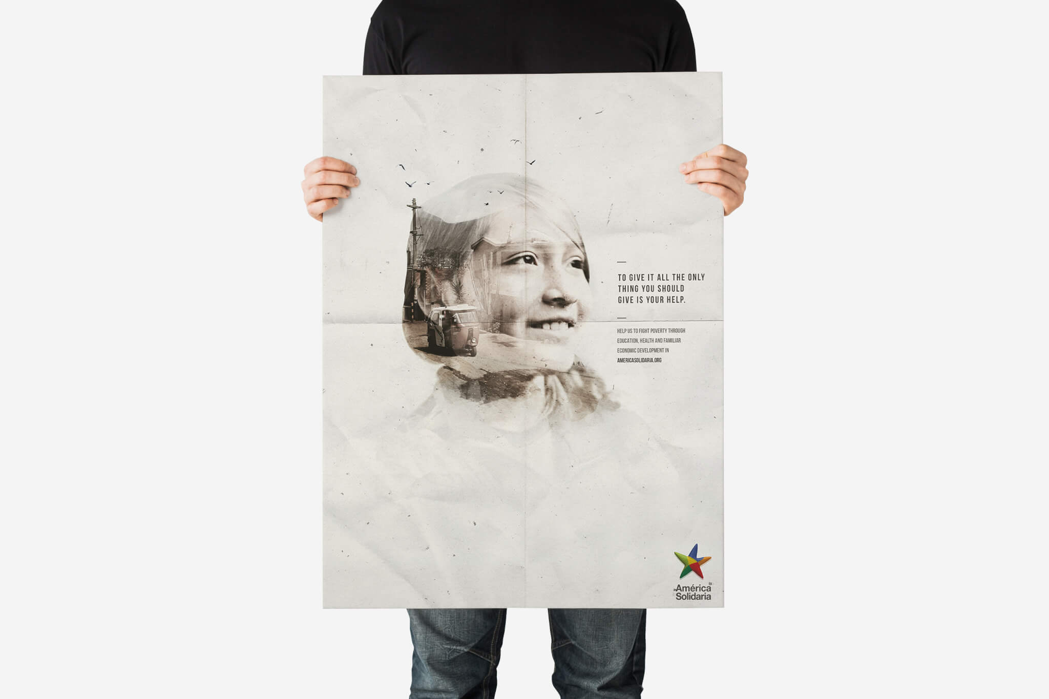 Free-Young-Man-Holding-Poster-Mockup
